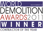 Demolition Awards 2011 Winner